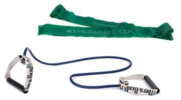 Übungsbänder und Tubing