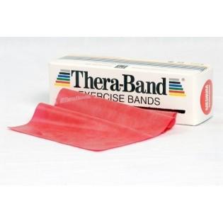 Thera-Band Übungsband, 5,5 m, mittelstark/rot