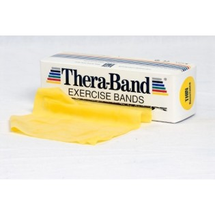 Thera-Band Übungsband, 5,5 m, leicht/gelb