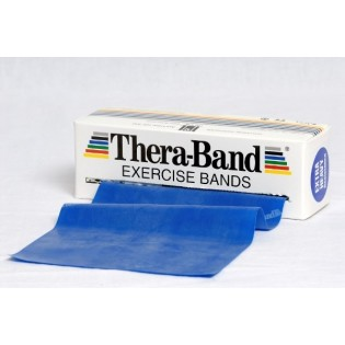 Thera-Band Übungsband, 5,5 m, extrastark/blau