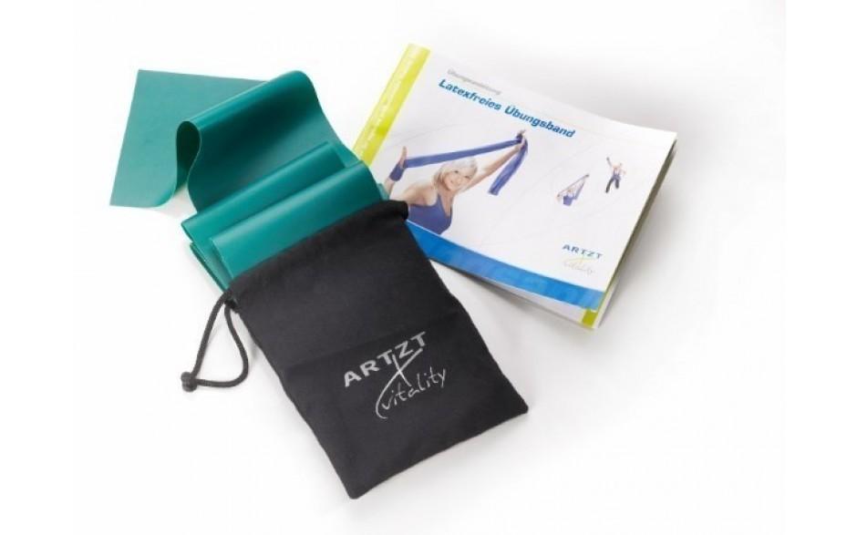 ARTZT vitality Latexfree Übungsband, 2,5 m, stark/grün