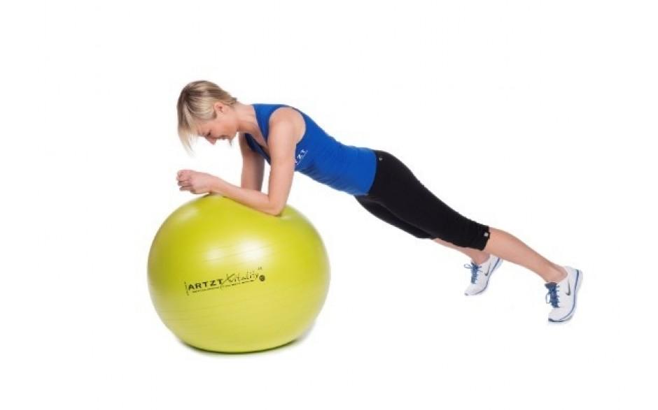 ARTZT vitality Fitness-Ball Standard - Übungsbeispiel