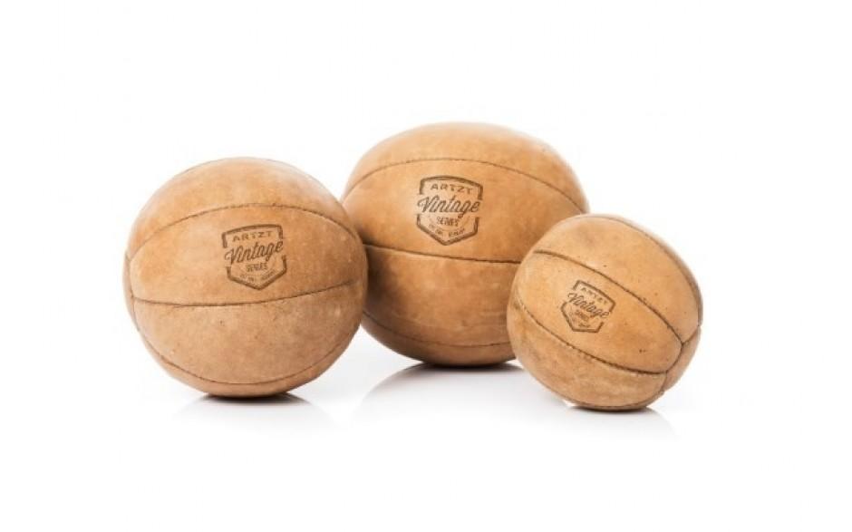 ARTZT Vintage Series Medizinball in 5 Gewichtsklassen