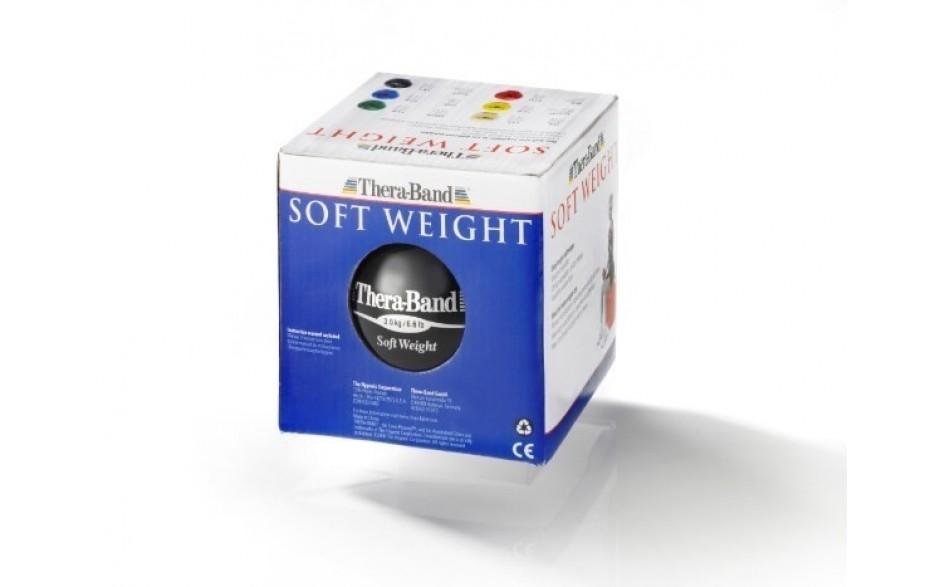Thera-Band Soft Weight Gewichtsball, 3,0 kg/schwarz - verpackt