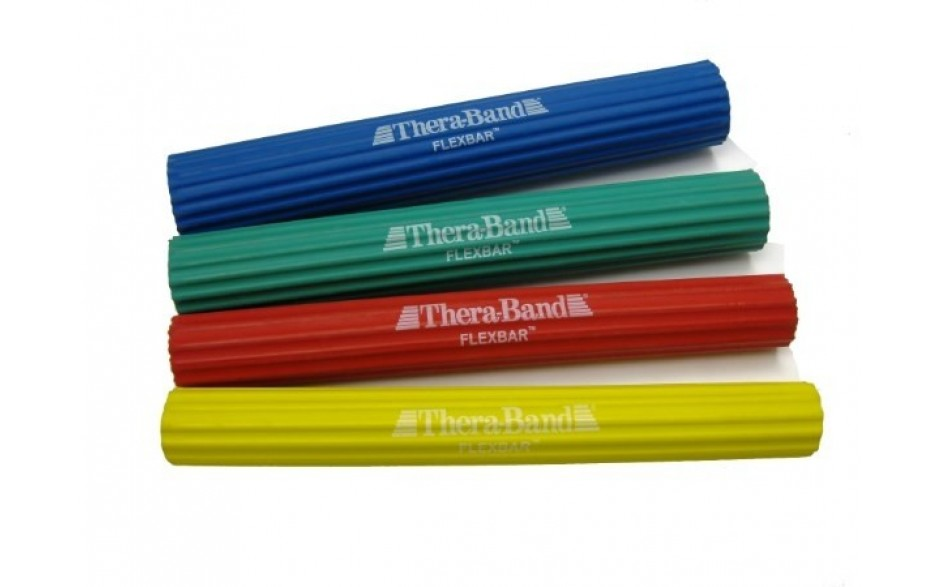 Thera-Band flexibler Übungsstab in 4 Widerstandsstufen