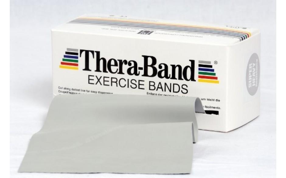 Thera-Band Übungsband, 5,5 m, superstark/silber