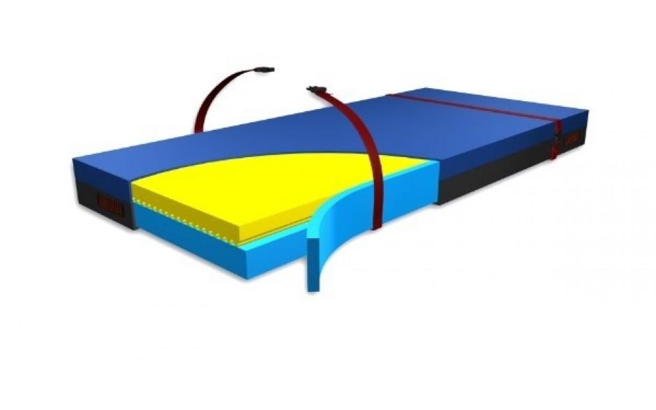 EVAQ®-PRO Visco Anti-Dekubitus-Matratze mit Evakuierungsfunktion