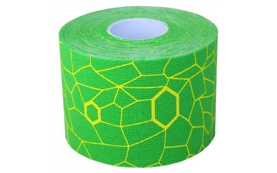 Thera-Band Kinesiology Tape, 5 m, grün/gelb