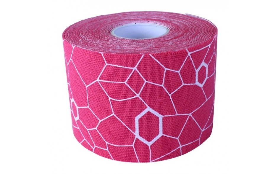 Thera-Band Kinesiology Tape, 5 m, pink/weiß