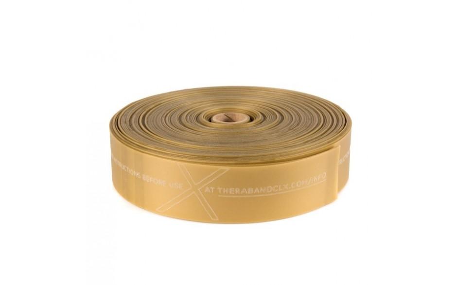 Thera-Band CLX Rolle Widerstandsstufe maximalstark/gold - Länge 22 m