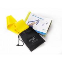 ARTZT vitality Latexfree Übungsband, 2,5 m, leicht/gelb